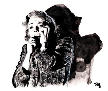 Vera Miles in Psycho