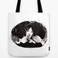 Chabrol: Marie Laforêt in The Blue Panther Tote Bag